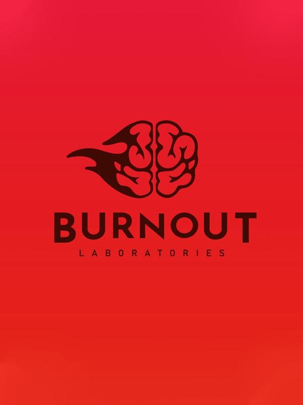 δημιουργία λογοτύπου concept burnout