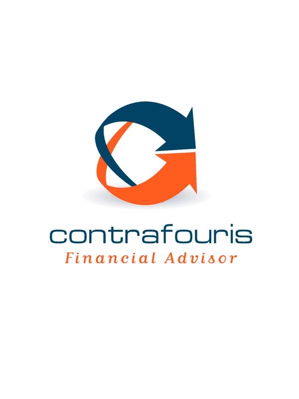 Σχεδιασμός λογότυπου για το ασφαλιστικό γραφείου Κοντραφούρη