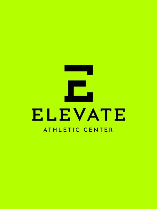 Σχεδιαμσός λογοτύπου για το αθλητικό κέντρο Elevate
