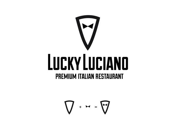 Δημιουργία λογοτύπου για το εστιάτόριο Lucky Luciano