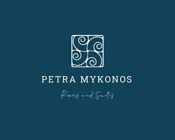 Δημιουργία λογοτύπου για ξενοδοχεία Petra στη Μύκόνο